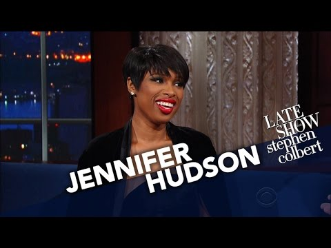 Jennifer Hudson Takes Stephen To Church