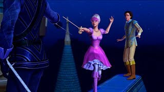 Barbie and The Three Musketeers - Final Duel: Corinne protect the Prince Louis