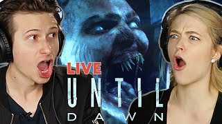 "Scared Buddies Play ""Until Dawn"" - Halloween Special"
