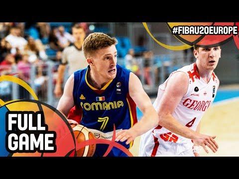 Georgia v Romania - Full Game - FIBA U20 European Championship 2017 - DIV B