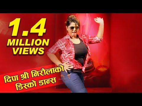Dipa Shree Niraula Dancing in Movie Kali Song Slowly . Glamour Nepal