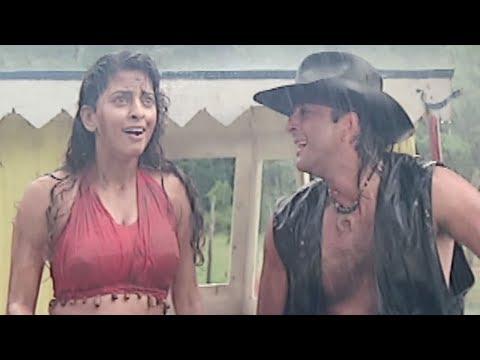 Xxx Mp4 Sanjay Dutt Saves Juhi Chawla S Life Bollywood Movie Scene Safari Bollywood Movie 3gp Sex