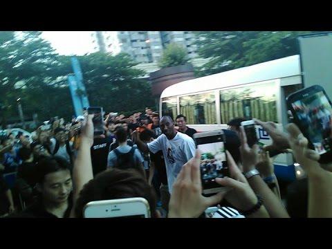 柯比·布萊恩!他來了國立台灣大學!!!! コービー・ブライアント Kobe Bryant!!!