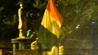 India's Victory celebrations Hyderabad