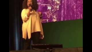 Oprah performing Phenomenal Woman by Maya Angelou