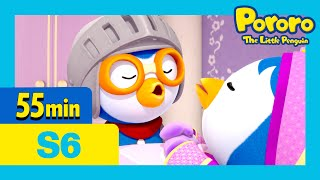 Crong's little friend and more(55min) | Kids Animation | Pororo the Little Penguin