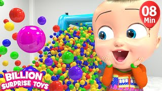 Lot of Surprise TOYS for Children Song  - Animation Songs for Babies