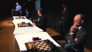 [SHORT VERSION] Magnus Carlsen Blind & Timed Chess Simul at the Sohn Conference in NYC