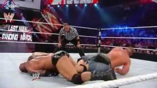 JOHN CENA VS. BATISTA 2010 EXTEME RULES [LAST MAN STANDING] WWE CHAMPION SHIP 2/3