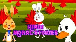 Top 10 Moral Stories In Hindi | Panchtantra Ki Kahaniya In Hindi | Cartoon | Dadi Maa Ki Kahaniyan