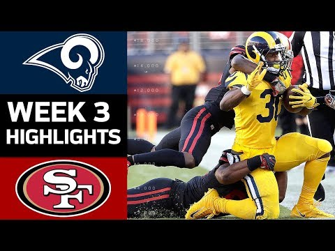 Rams vs. 49ers NFL Week 3 Game Highlights