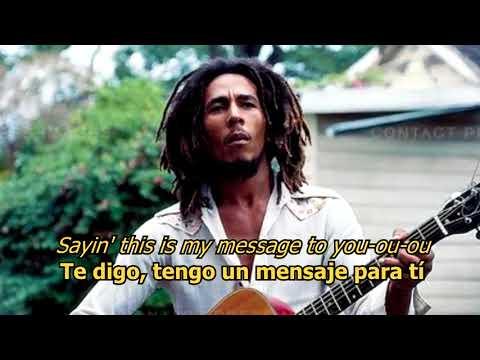 Three little birds - Bob Marley (LYRICS/LETRA) [Original] [w/earphones]