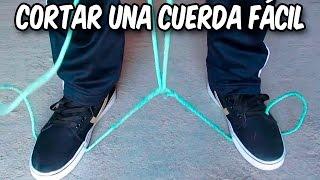 Como Cortar Una Cuerda En Casos De Emergencia│Like Cutting a Rope Emergency