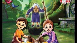 Hansel & Gretel व चॉकलेटच्या घरातली चेटकीण | Animated Fairy Tales | Marathi Stories by Jingle Toons