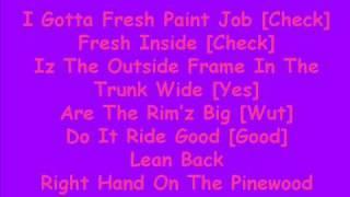 Dorrough Ice Cream Paint Job Lyrics