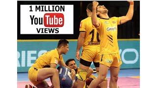 Pro Kabaddi 2018: Tamil Thalaivas vs Telugu Titans (28-33) Match Highlights [Hindi]