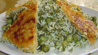 شویدپلو با نخودفرنگی Dill, Peas & Rice Side | Shevidpolo ba Nokhod Farangi