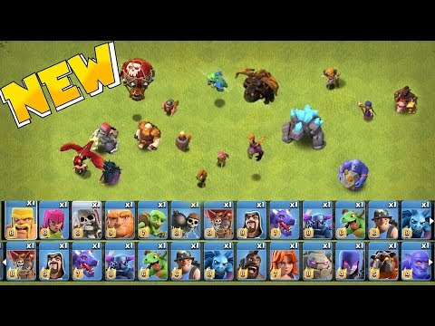 Xxx Mp4 ALL TROOPS LEVELED UP Clash Of Clans MAX TROOPS SPELLS 3gp Sex