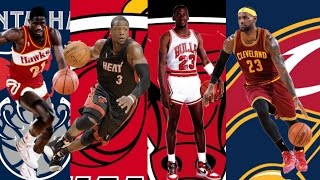 NBA Best Player Ever By Team