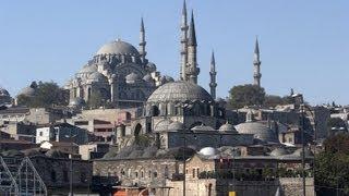 Istanbul treasures: Blue Mosque and Hagia Sophia