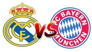 How to Draw and Color - Real Madrid Vs Bayern Munich Champions League Logos Coloring Pages