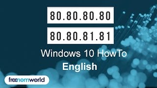 Freenom World Windows 10 HowTo (English)