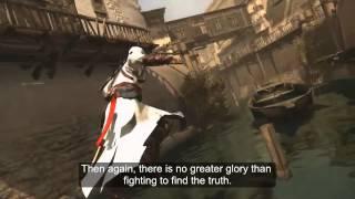 Assassin's Creed - Altaïr Ibn-La'Ahad legacy speech