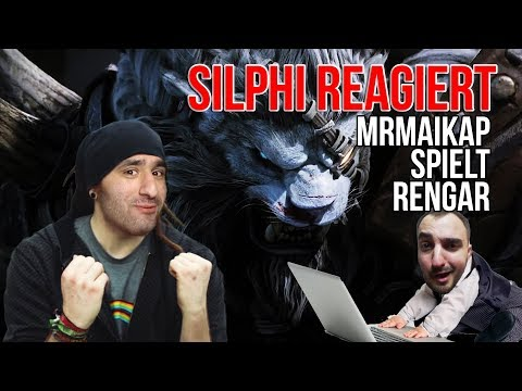 MrMaikAp Rengar Jungle Gameplay Analyse ! Silphi Reagiert [League of Legends] [Deutsch / German]