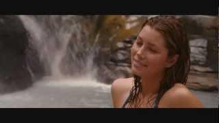 The Beautiful & Sexy Jessica Biel Getting Wet - Jessica Biel in Sexy Bikini Sexy boobs booty scene