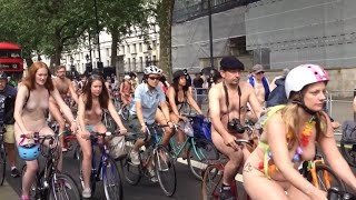 LONDON NAKED BIKE RIDE 2016 -Full HD