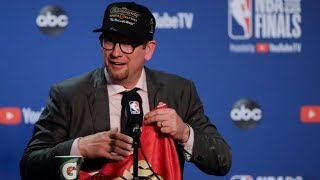 Nick Nurse wins NBA title in first year as coach