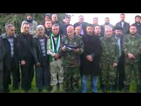 بيان تشكيل جبهة ألوية أحرار حلب