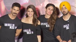 UNCUT: Udta Punjab Trailer Launch | Shahid Kapoor, Kareena Kapoor,Alia Bhatt, Diljeet