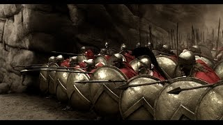 300 Spartans First Battle Scene HD