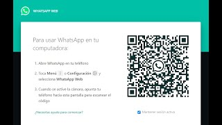 WhatsApp para Computadora (web.whatsapp.com)