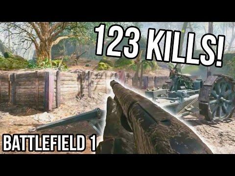 watch BATTLEFIELD 1 123 KILLS RECORD for Argonne Forest! [STREAM QUALITY] BF1 Shotgun Gameplay