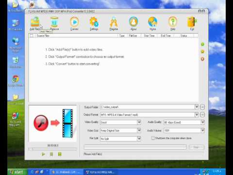 Xxx Mp4 FLV To AVI MPEG WMV 3GP MP4 IPod Converter Wmv 3gp Sex
