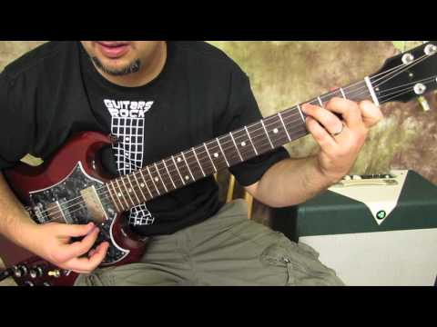 CCR - Suzie Q - Rock and Blues Guitar Lesson - How to Play on Guitar - Creedance Clearwater Revival