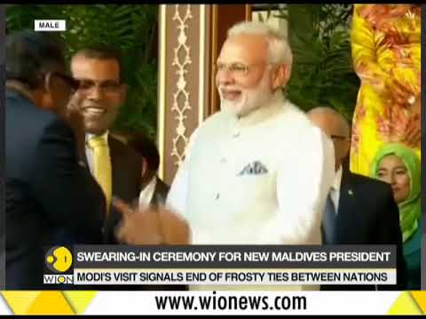 Xxx Mp4 PM Modi 39 S First Official Visit To Maldives Solih Sworn In As 6th President Of Maldives 3gp Sex