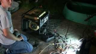 generator conversion  to electric start