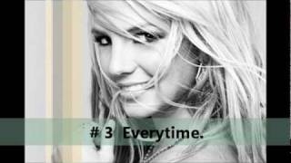 Britney Spears - My Top 10 ( Ballads )