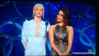 Vanessa Hudgens & Julianne Hough presenting at the Creative Emmy