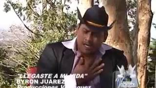 Byron Juarez  llegastes ami vida