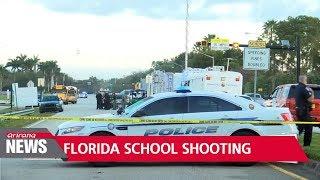 Trump blames mental illness of Florida school shooter over calls for stricter gun control