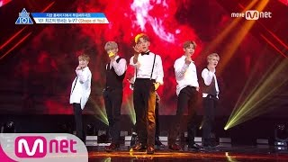 PRODUCE 101 season2 [단독/6회] '최초 앙코르 등장' Center of YouㅣEd Sheeran ♬Shape of You @포지션 평가 170512 EP.6