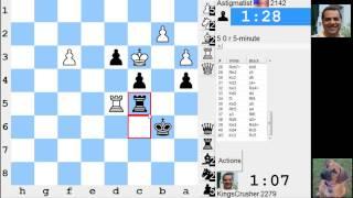 LIVE Blitz #2769 (Speed) Chess Game: Black vs Astigmatist in Sicilian Defence