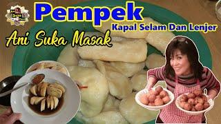 Pempek Kapal Selam Dan Lenjer , Cuko - Asli Palembang Enak-  FULL