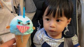 Balita Lucu Menunggu Paman Penjual Es Krim Baby Shark - Baby Eat Baby Shark Ice Cream