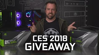 Win an MSI Gaming Laptop or 1080 Ti! CES 2018 Giveaway!