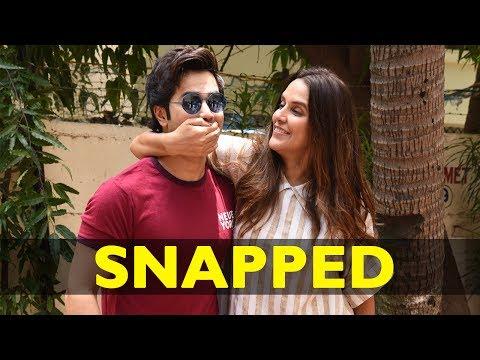 Varun Dhawan Snapped Shooting For No Filter Neha Season 2